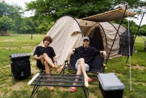 キャンプはやっぱ最高ですね!